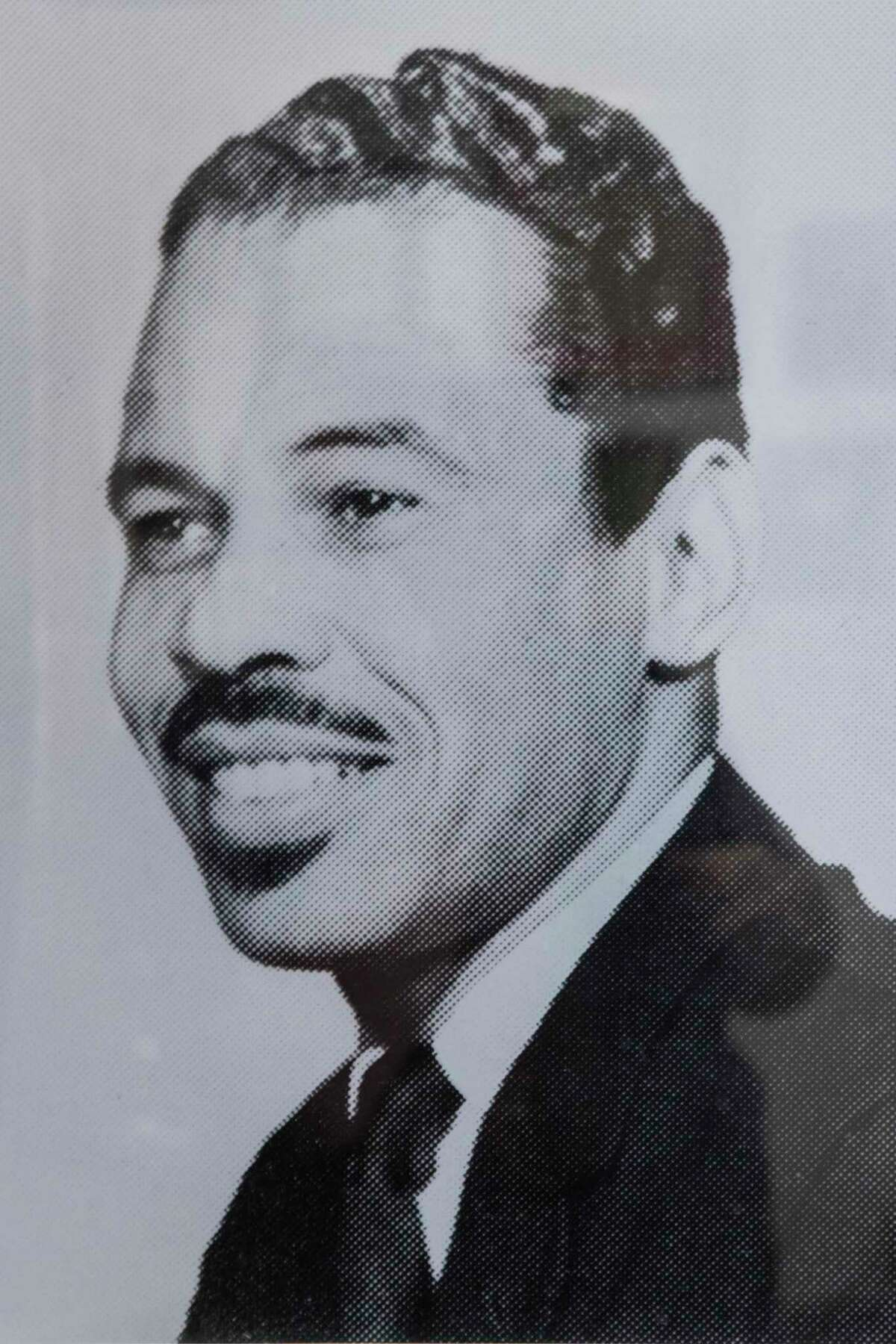 Dr. Thomas Freeman, founding dean of the Texas Southern University Honors College and longtime debate team director, is shown in a photo from the 1970s.