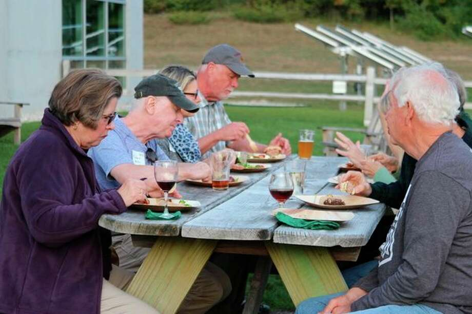 The Grand Traverse Regional Land Conservancy hosted several volunteer appreciation events for active, past and potential volunteers at two locations. (Photo/Colin Merry)