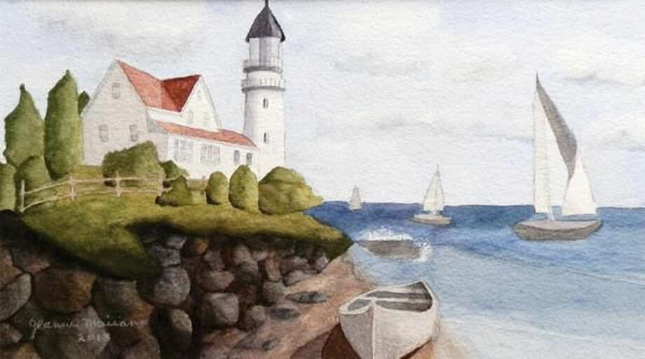 Watercolor by Jeanne Mairano