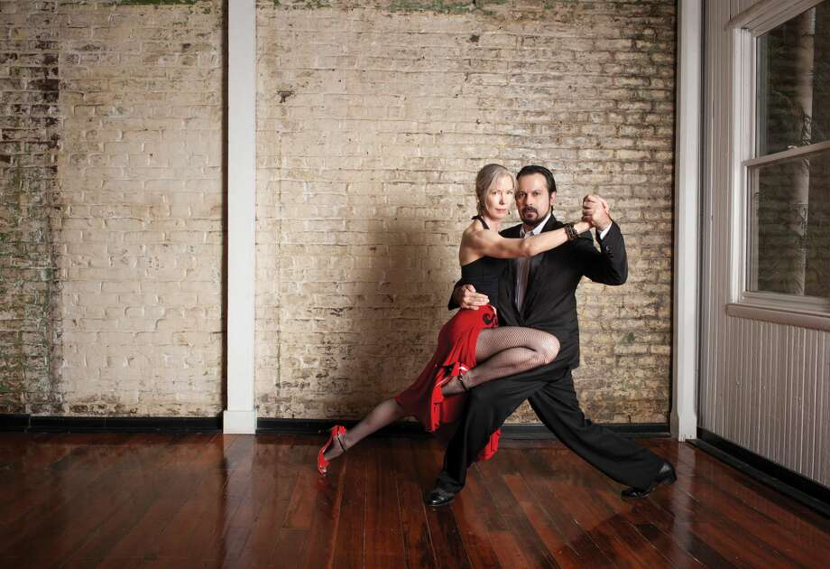 Submitted Photo by Gregg Carr Dale Ellison and Gem Duras will offer a tango class, Saturday, March 19, at the Milford Center for the Arts, 40 Railroad Ave. S.