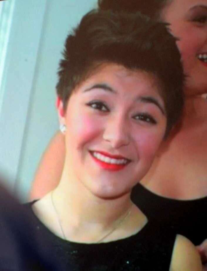 A photo Maren Sanchez taken from a video shown at a celebration of Maren's life one year after she was stabbed to death by a classmate at Jonathan Law High School in Milford, Conn. Maren was remembered as her classmates graduated on Monday, June 15, 2015.