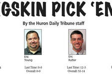 """The Huron Daily Tribune's panel of """"experts"""" peer into the future to predict the outcome of Friday night's games."""