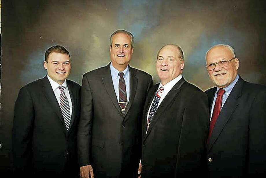 TeamTony, from left, Spencer Rubin, Joe Dey, Tony Anastasio and David Lober.