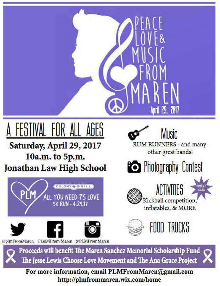 The 3rd Annual PLM Festival will take place on April 29 at Jonathan Law High School. This is a wonderful family day full of delicious food, awesome fun & incredible activities like hi-end inflatables! The day starts with a 5K and music plays throughout with many favorite local bands. Admission free!