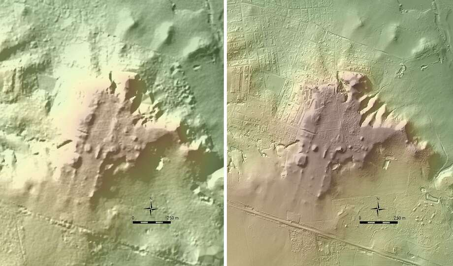 Maps made with lidar technology have been used to identify the ruins of 27 previously unknown Mayan ceremonial centers. Photo: Photos By National Center For Airborne Laser Mapping