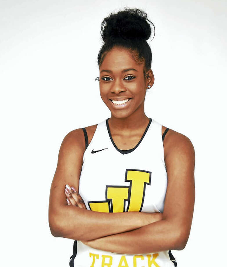 Law's Kiara Smith as the area MVP for girls indoor track.
