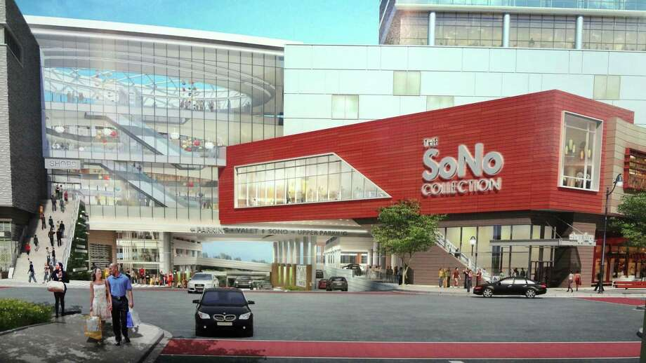 A rendering of the SoNo Collection mall. Photo: Alexander Soule / Hearst Connecticut Media / Stamford Advocate