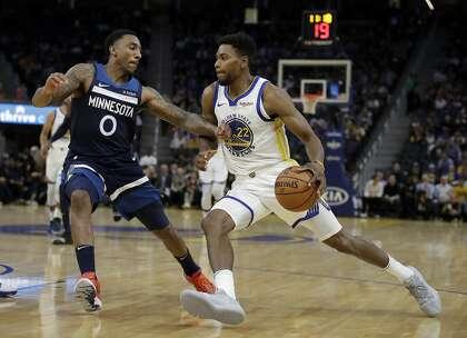 Glenn Robinson III to open season as Warriors' starting small forward
