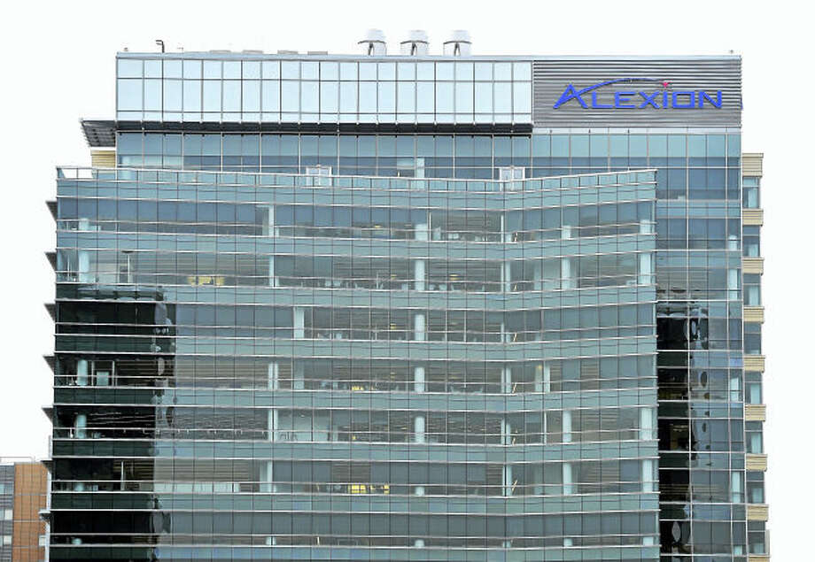 (Arnold Gold-New Haven Register) Alexion Pharmaceuticals headquarters in New Haven photographed on 1/1/52016.
