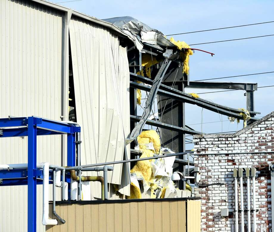 A reported explosion rocked the area around 73 Welton St. and State Street in the East Rock neighborhook in New Haven at the Chlor-Alkali plant in 2016.