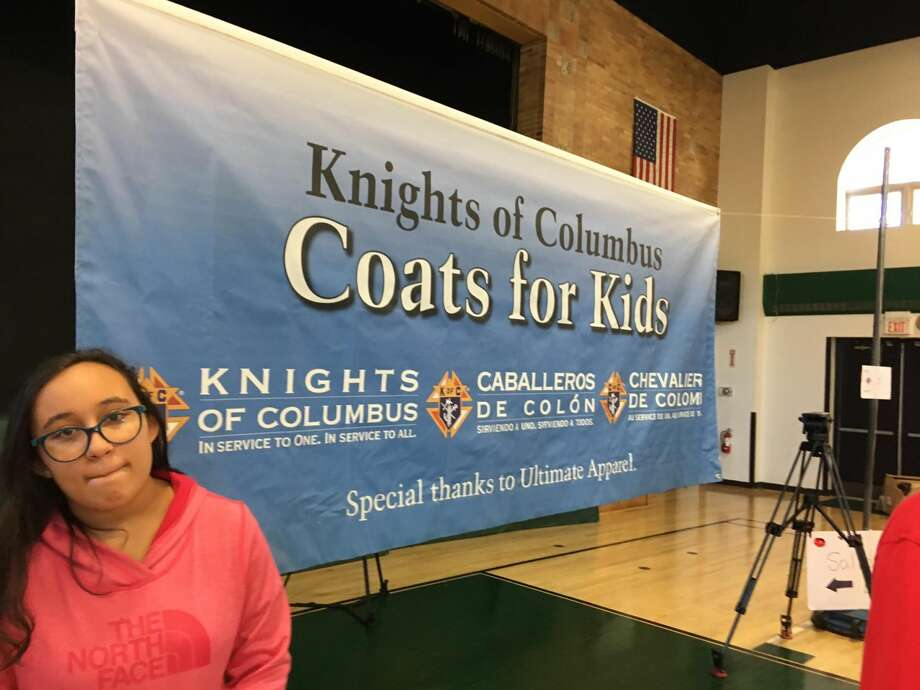 The annual Knights of Columbus Black Friday coat giveaway, Nov. 24, 2017, McGivney Center, Bridgeport
