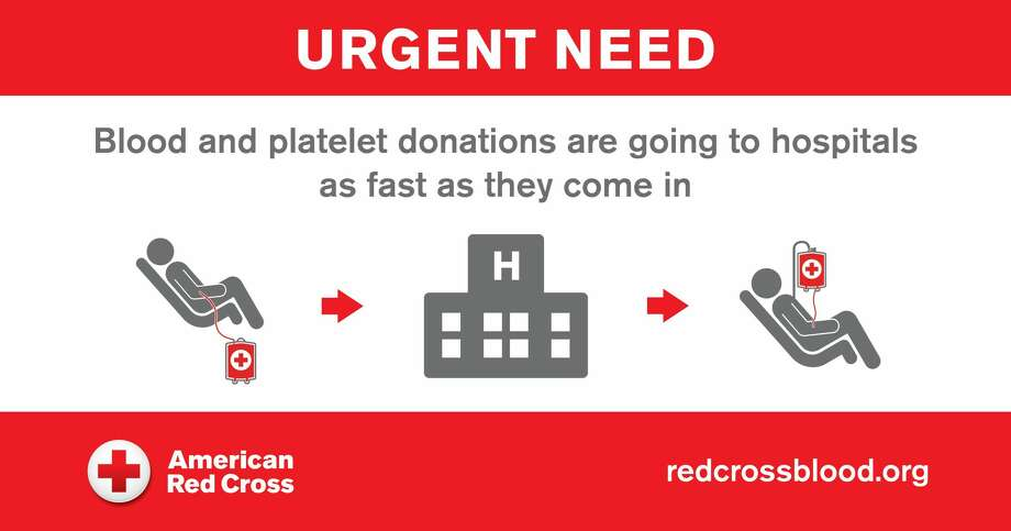 Red Cross issues urgent call for blood, platelet donors