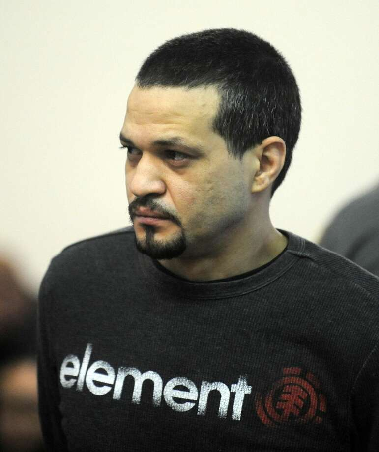 Anthony Espinal appears before Superior Court Judge Robin Pavia Wednesday, Dec. 24, 2014, in Bridgeport.