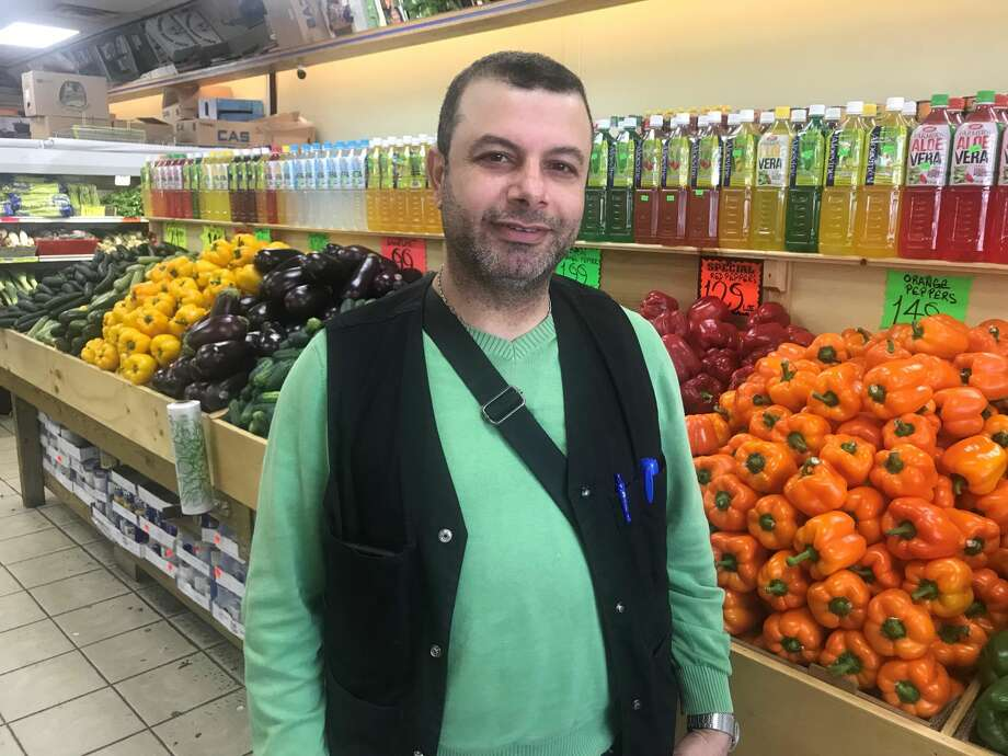 Orange Farmers Market owner Murat Karacayli