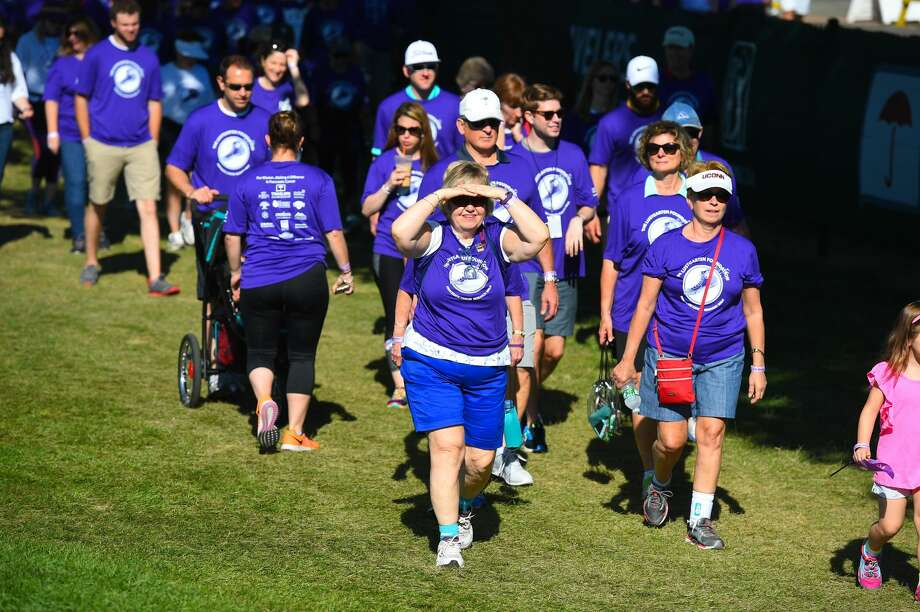 Brittany Vose of Cromwell, 22, is expected to reach her goal of raising a half-million dollars for pancreatic cancer research Sunday at the Travelers Championship. The Lustgarten 18-Hole-Stroll for Pancreatic Cancer Research is held to honor Vose's father, who died at age 44 when she was a 5-year-old.