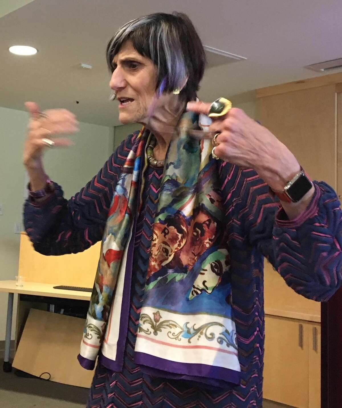 U.S. Rep. Rosa DeLauro said she will fight for women's health issues on all fronts. She said the public has to speak up, particularly on next Supreme Court justice..