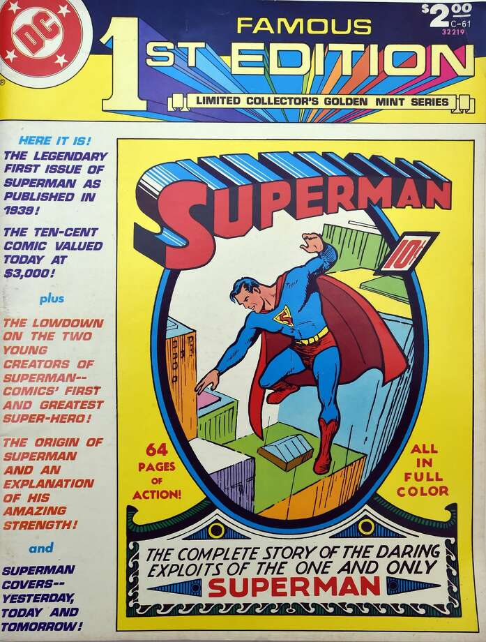 A limited collector's edition Superman DC comic book from the collection of Randall Beach.