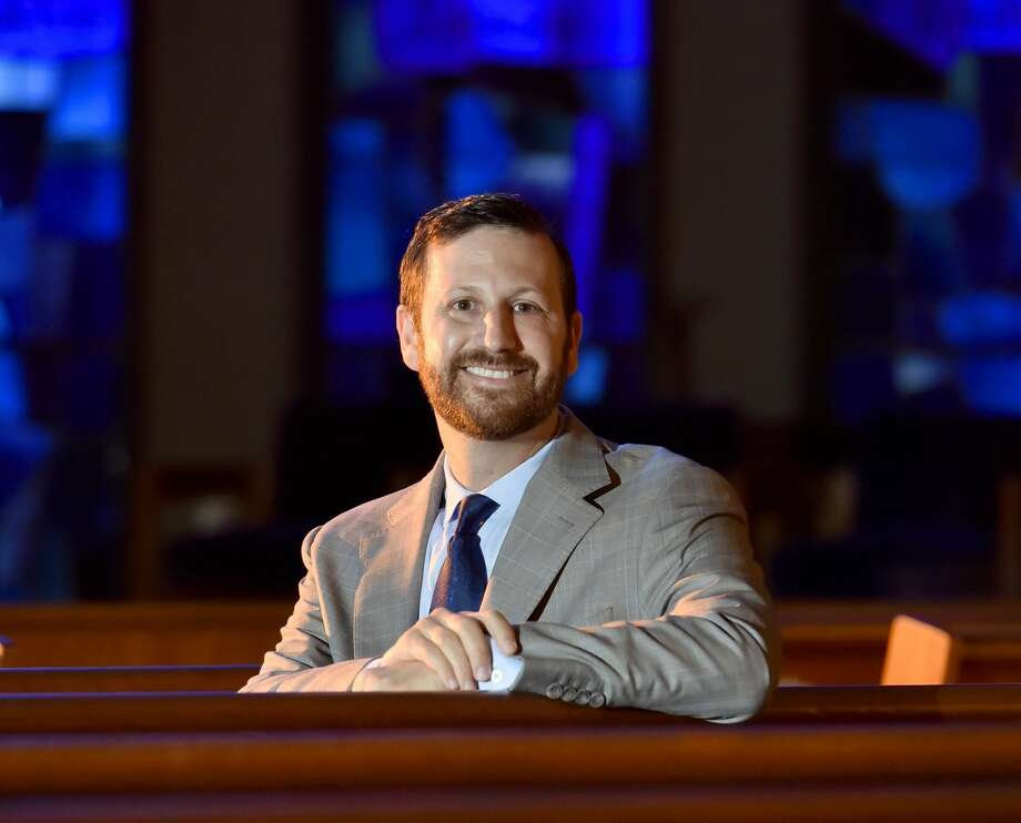 Rabbi Brian Immerman of Congregation Mishkan Israel in Hamden.