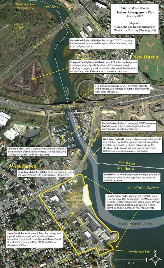 Details from the West Haven Harbor Management Plan