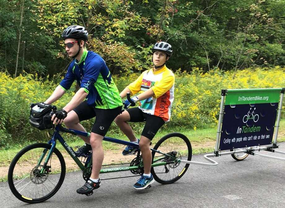 InTanden provides tandem rides primarily for the vision impaired, but also for those with other disabilities.