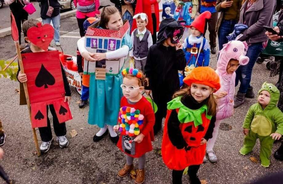 Lots of little trick-or-treaters participated in Hall-O-Weekend events Sunday.