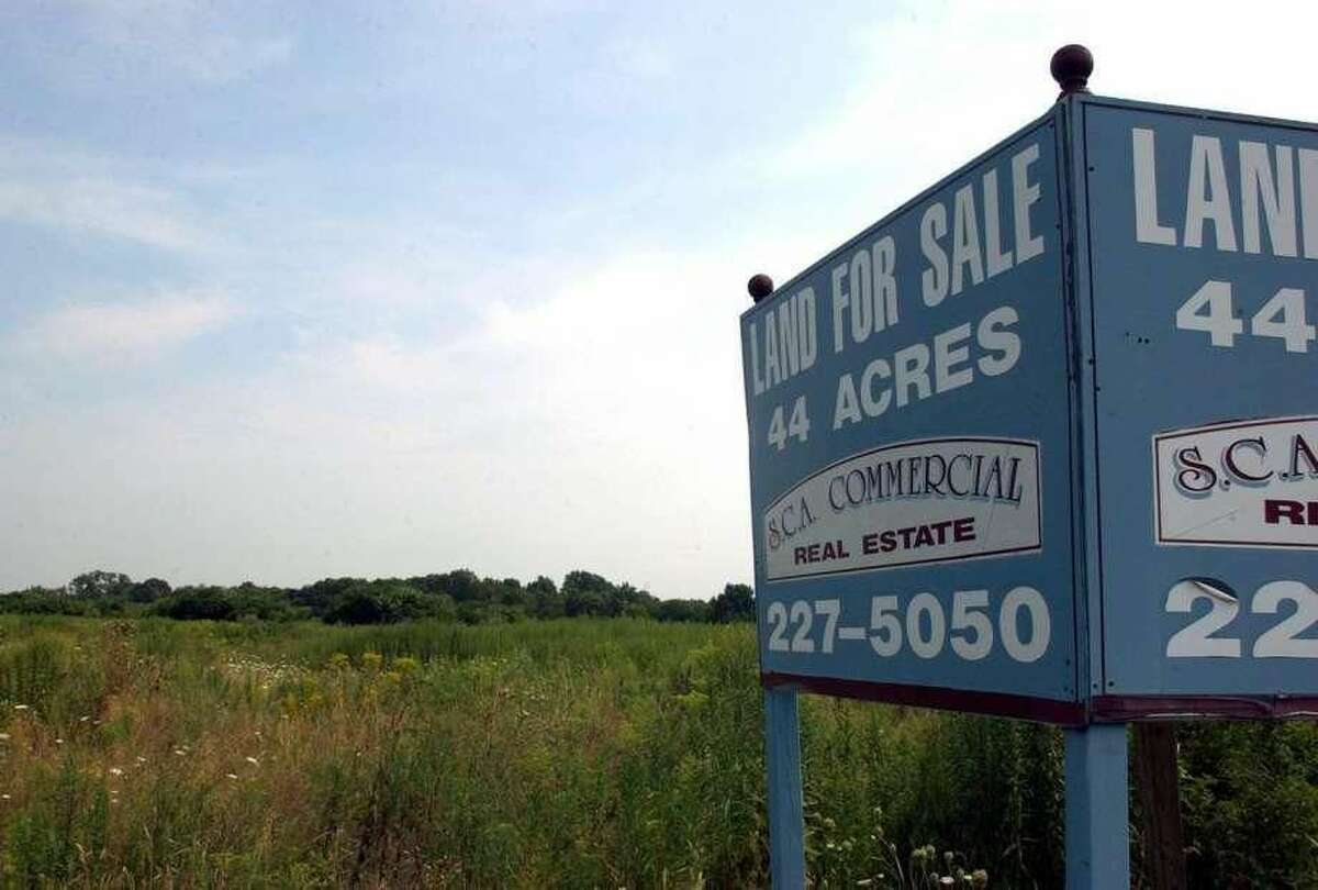 The 41-acre property at 161 Marsh Hill Road in Orange.