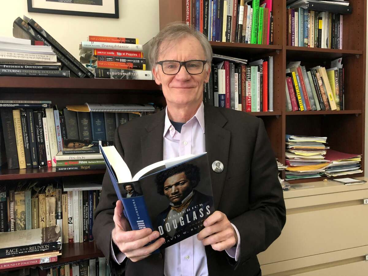 David Blight, professor of American history at Yale University, has written a new biography,