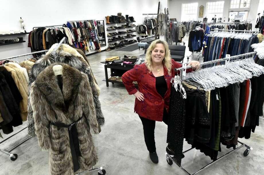 Rennee Mizrahi, owner of Renee's Resale Clothing Outlet in Orange.