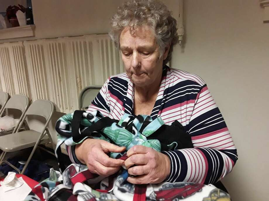 Sue Yamaguchi of West Haven is founder and director of the Blanket Fairy Mission of Greater New Haven, a community program affiliated with Orange Congregational Church.