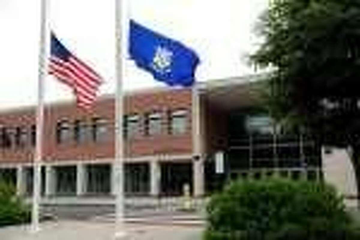 Amity High School in Woodbridge