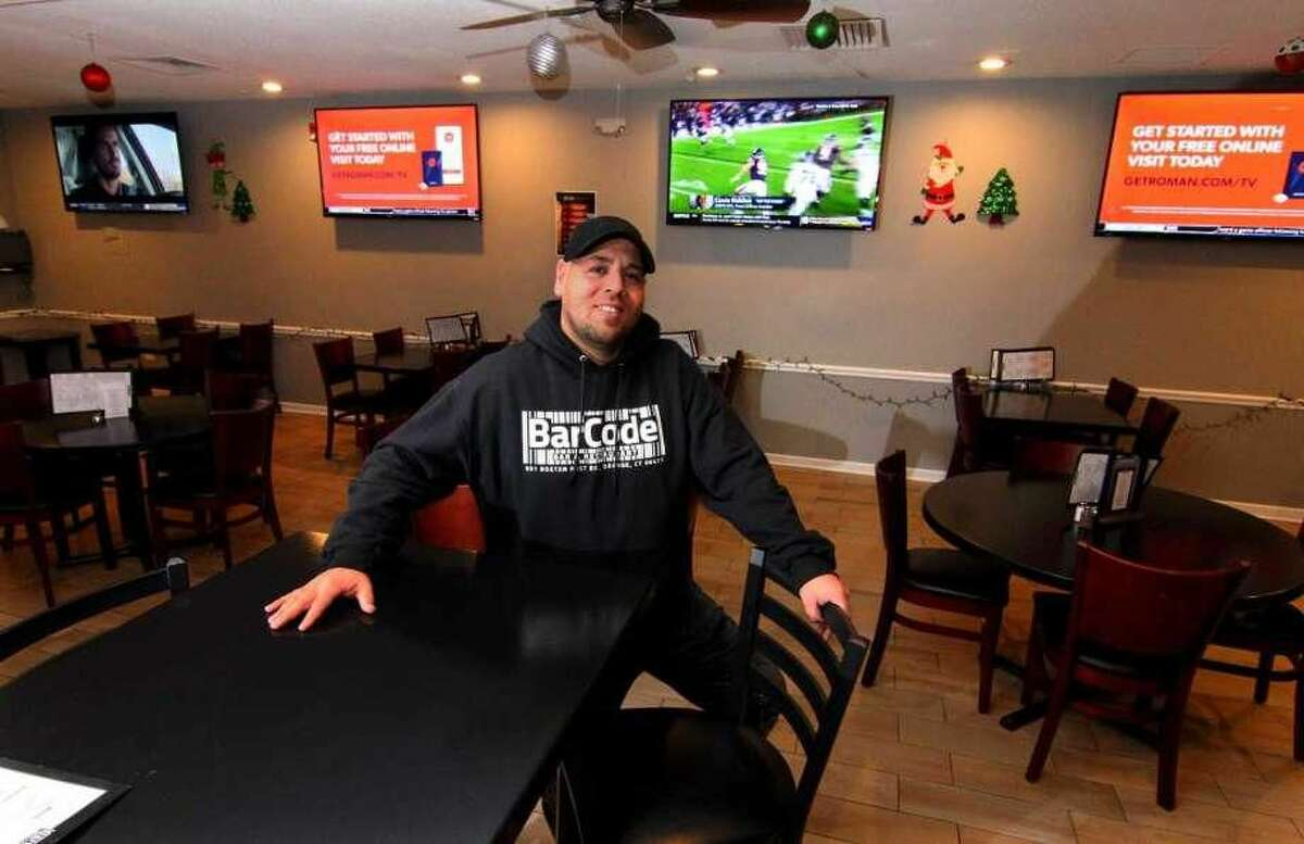 BarCode co-owner Chris Del Vecchio at the business in Orange.