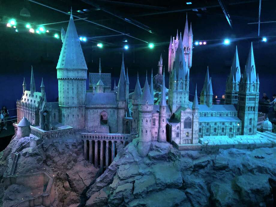 A model of Hogwarts is among the sets on display on the London soundstages and backlot where the Harry Potter films were made. Photo: Photo For The Washington Post By Alexandra Pecci / For The Washington Post