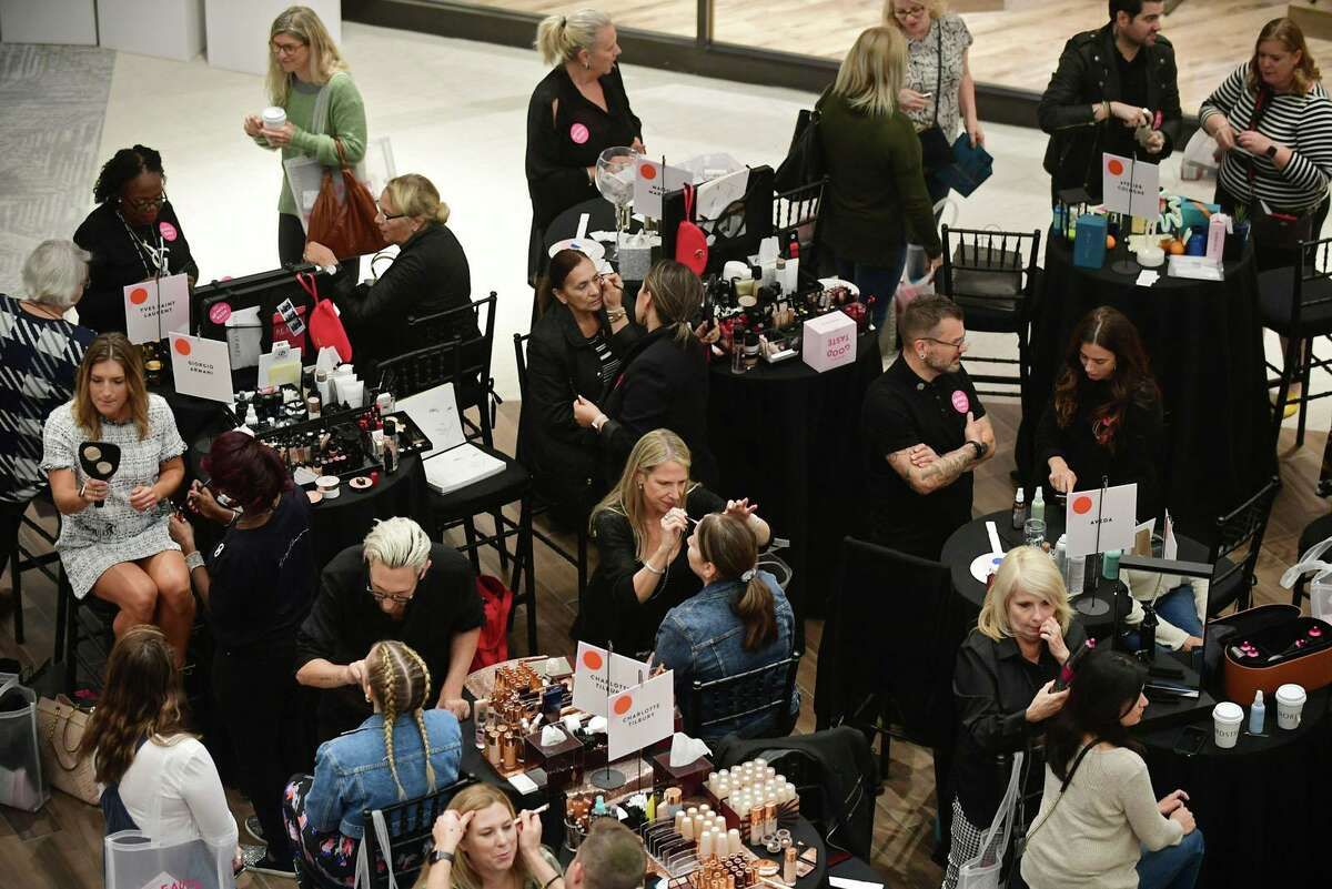 Customers enjoy Nordstrom's Beauty Bash and Opening Pre Party as The SoNo Collection mall officially opens Friday, October 11, 2019, in Norwalk, Conn.