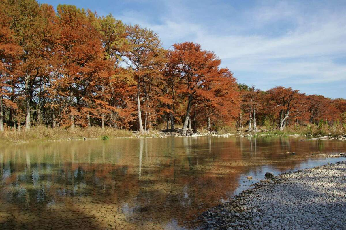 Proposition 5 would dedicate existing state sales tax funds to the Texas Parks & Wildlife Department and the Texas Historical Commission, helping preserve such magnificence as the Frio River flowing through Garner State Park.