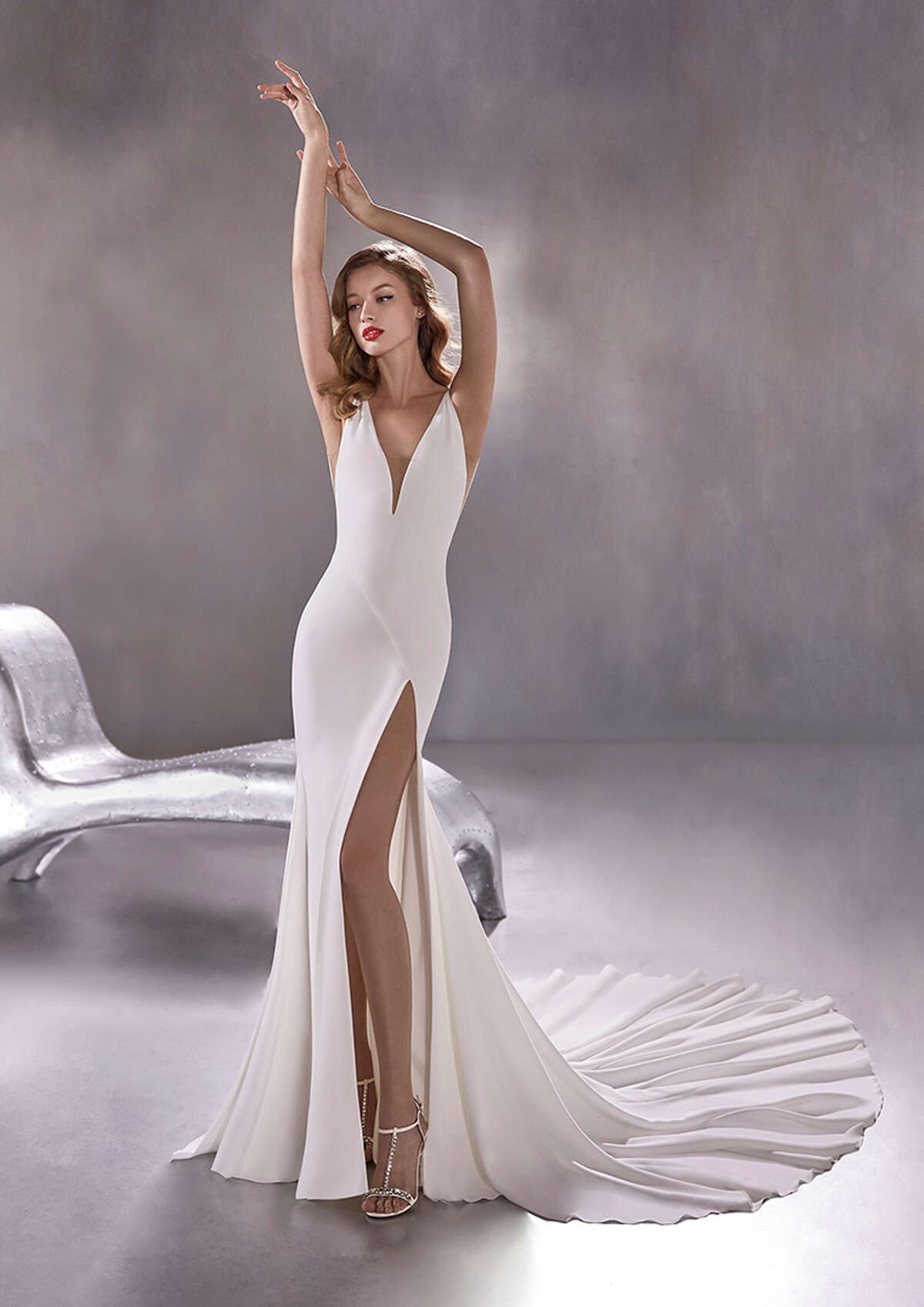 Blue Moon B Pronovias Boutique Houston is one of seven new bridal stores that the brand is opening across the country, joining the first-ever American store in New York.
