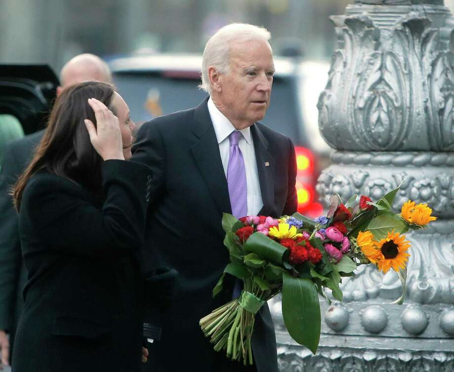 On Vice President Joe Biden's watch, the United States refused to deliver military aid at all to Ukraine. Photo: Efrem Lukatsky / Associated Press / AP