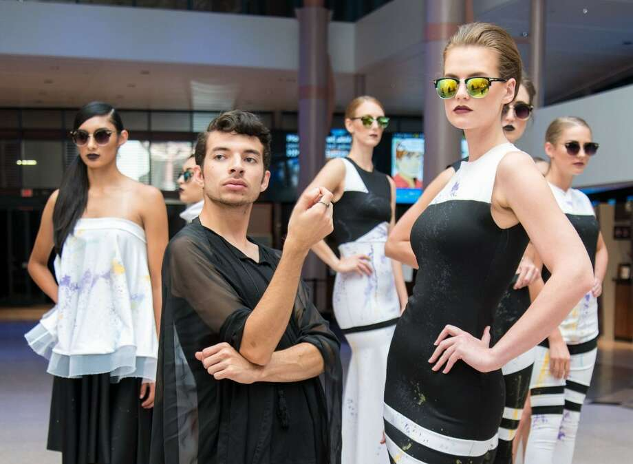 "Houston fashion designer Alan Gonzalez will be on the new 18th season of ""Project Runway,"" which starts Dec. 5. Photo: Photo: Gianna Navarro ., Courtesy Photos"