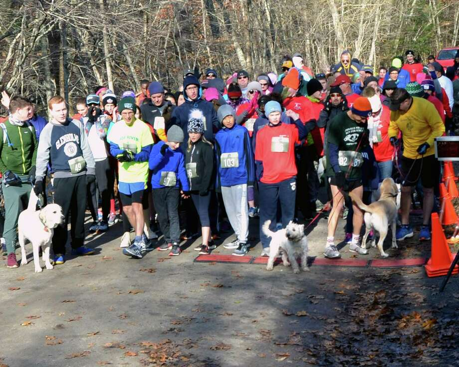 The Glenholme 5K Run for Autism will start at 10 a.m. on Nov. 10 at Steep Rock Preservation, 2 Tunnel Road, Washington Depot.  Pre-race registration until Nov. 9 is $20 for people and $10 for dogs. Race day registration is $25 for people, $10 for dogs.  To register online prior to the event, go to Eventbrite.com and search for 'Glenholme School 5K.' Race Day Registration opens at 8:30 a.m. The first 100 registrants will receive a t-shirt. Prizes will be awarded in all divisions including the top three registered dogs. Special awards will be given to the top male and female finishers. Local merchants and services are invited to become a sponsors of the event. For more information about sponsorship or participation, contact Courtney Delaney, Director of Development at cdelaney@devereux.org or 860-868-7377. Photo: Contributed Photo