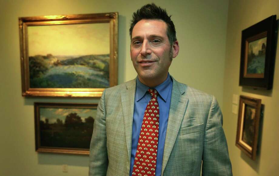 William Keyse Rudolph, chief curator of the San Antonio Museum of Art, has been named co-interim director alongside Lisa Tapp. Photo: BOB OWEN /San Antonio Express-News / © 2012 San Antonio Express-News