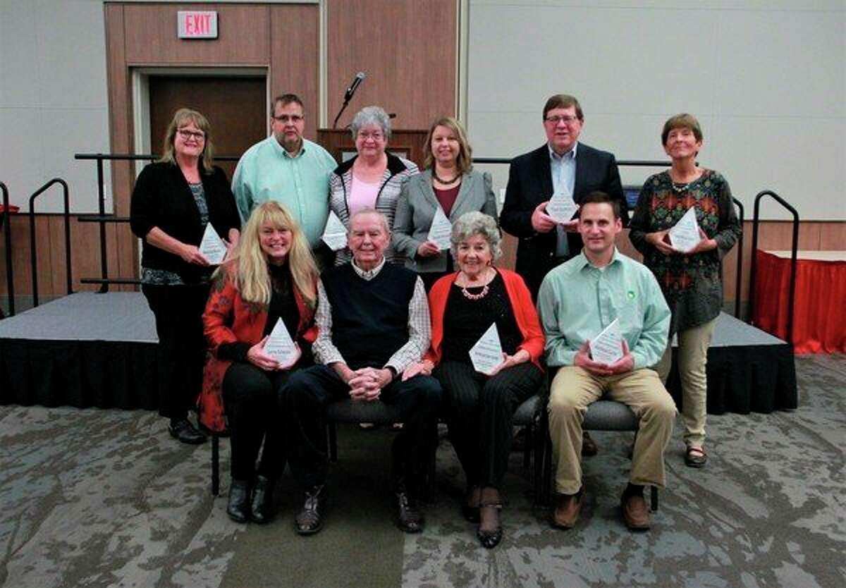 Trustees of the Mecosta County Community Foundation awardedthe 2019 Northern Lights recipents at their community luncheon Friday, Oct. 11. More photos of the banquet, as well as individual photos of the recipients, can be found at bigrapidsnews.com.(Pioneer photo/Alicia Jaimes)