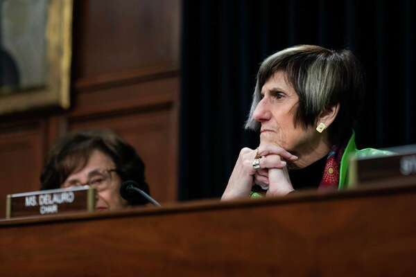Rep. Rosa DeLauro (D-Conn.) at a hearing on Capitol Hill in Washington, March 26, 2019.