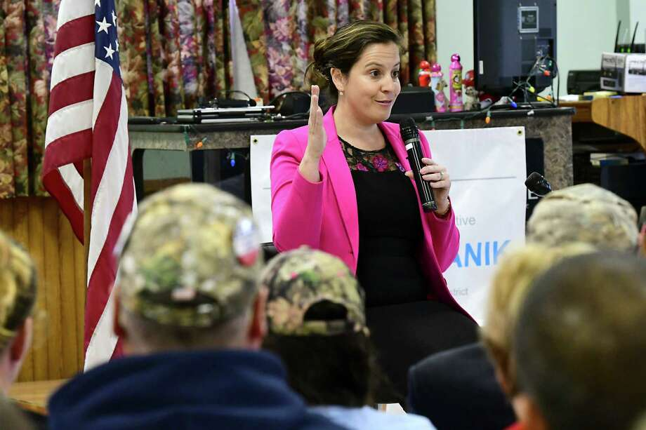 Political activists rally their supporters for Stefanik ...