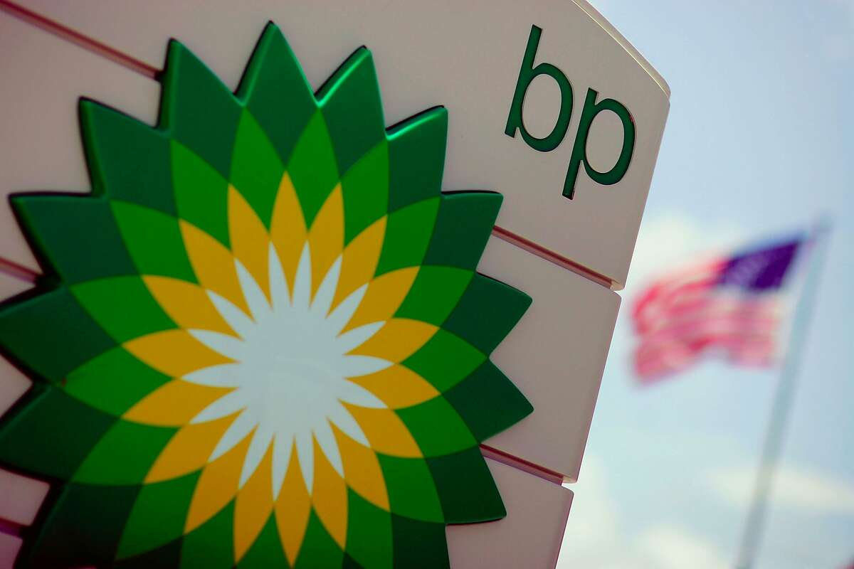 A BP sign is seen outside the gas station August 7, 2006 in Fort Lauderdale, Florida.