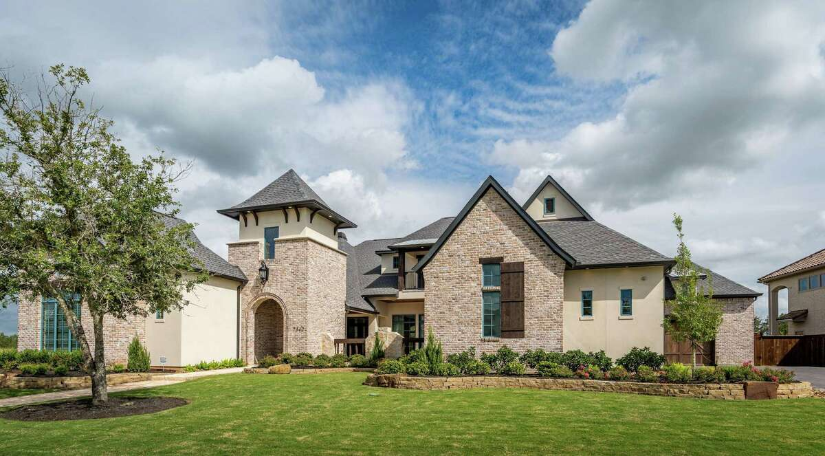 An estate home in The Estates at Cane Island has been named winner of a Greater Houston Builders Association PRISM award in the category of Best Custom Home Design for homes priced between $1 million and $1.5 million.