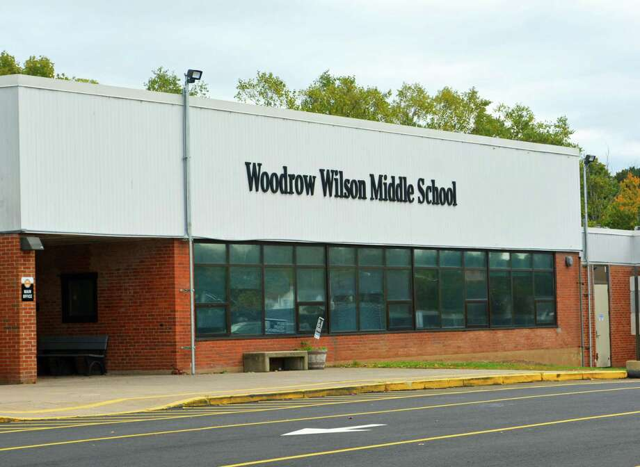 File photo of Woodrow Wilson Middle School in Middletown, Conn. Photo: Cassandra Day / Hearst Connecticut Media