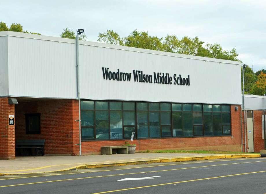 Woodrow Wilson Middle School Photo: Hearst Connecticut Media File Photo