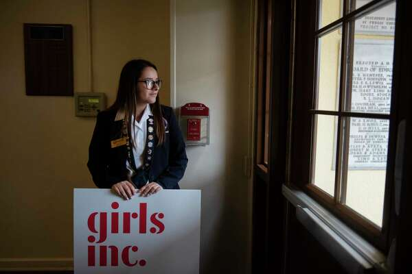 Girl Scouts joins with local female leaders to commemorate Day of the Girl at Young Women's Leadership Academy