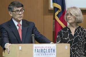 J.D. Faircloth, seen with his wife Venita, announced Friday he is seeking the Republican nomination for Texas' 11th Congressional District.