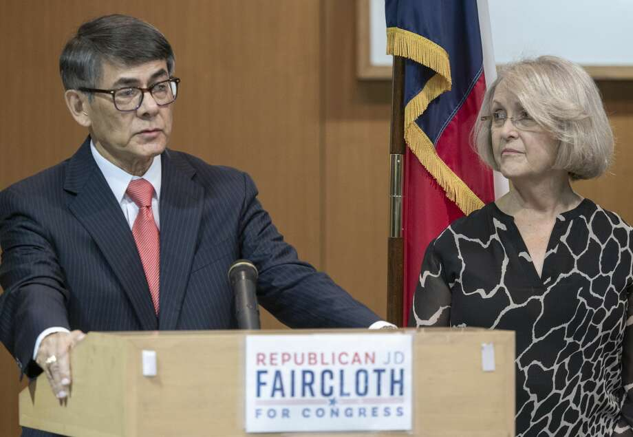 J.D. Faircloth, seen with his wife Venita, announced Friday he is seeking the Republican nomination for Texas' 11th Congressional District. Photo: Tim Fischer/Reporter-Telegram / Midland Reporter-Telegram