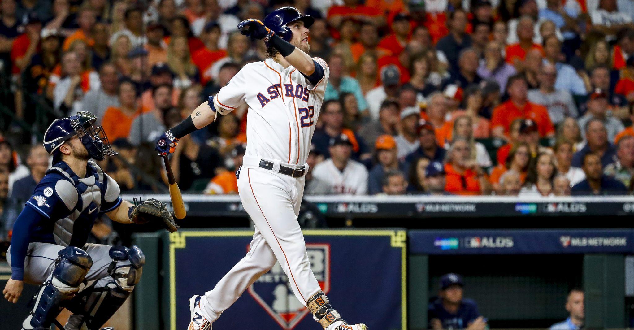 Astros' Josh Reddick discusses tipping pitches
